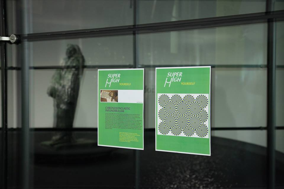 SUPERHIGH Yourself I: CHRONOCLASTIC INFIDIBULUM hacking Rodin's Balzac