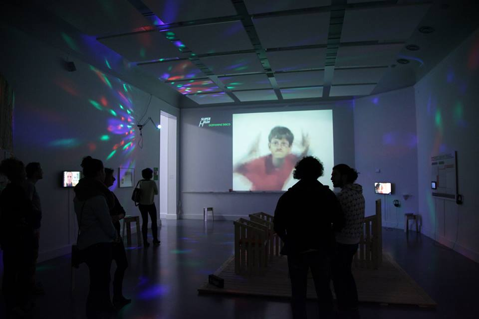 SUPERHIGH Yourself VI: DOPAMINE DISCO hacking the 'Arte Util' exhibition