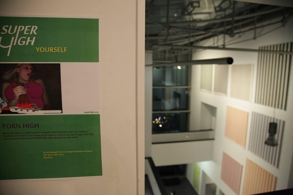 SUPERHIGH Yourself IX: PORN HIGH (hidden in a dark corner of the museum)