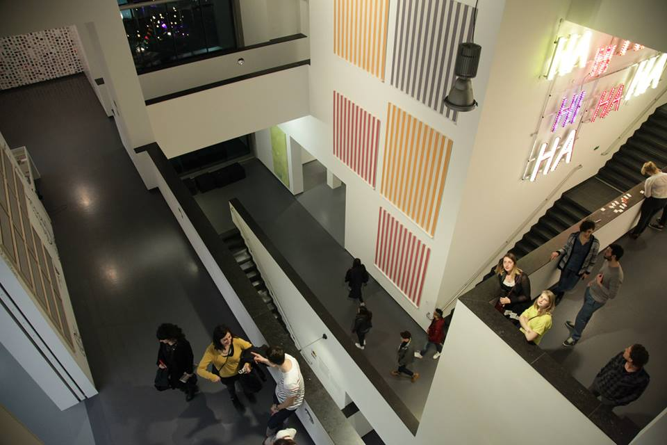 View from the 3rd floor of Van Abbemuseum