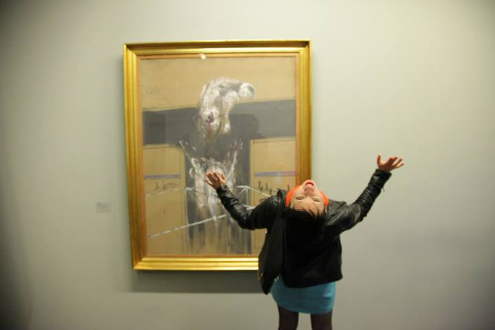 Sabine restaging the infamous FRANCIS BACON HIGH