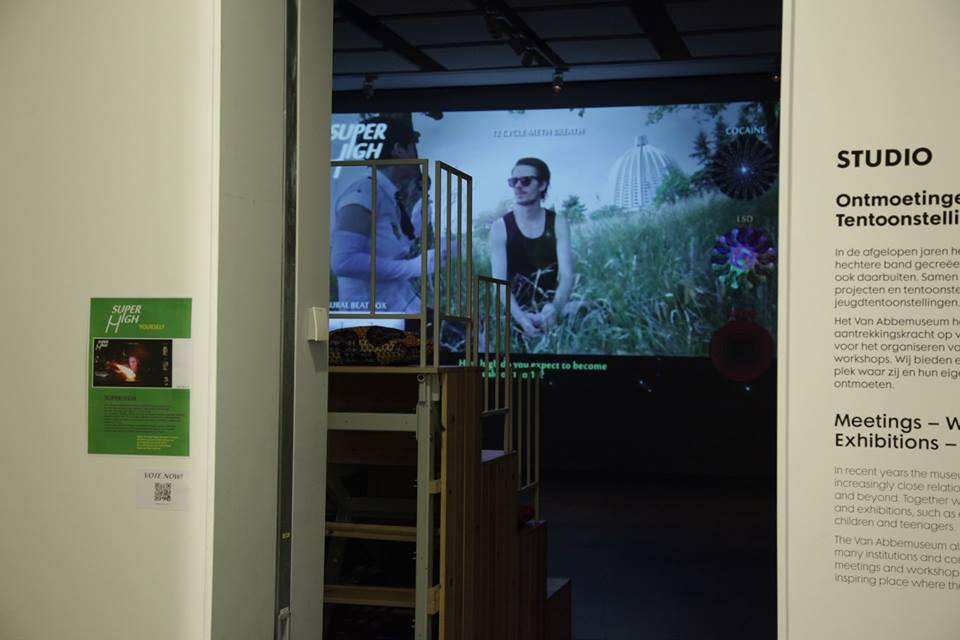 SUPERHIGH loop in the Studio of Van Abbemuseum